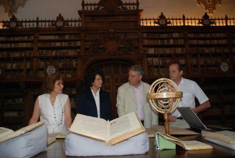 Visita del Subdelegado del Gobierno en Salamanca